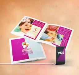 طراحی کاتالوگ دکتر سارا شفیعی
