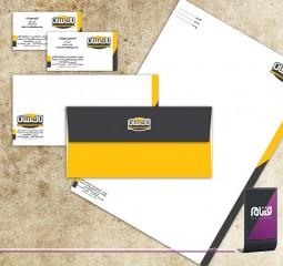 طراحی هویت سازمانی اداری لاک سان