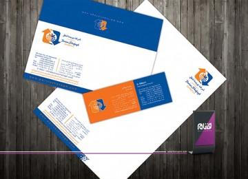 طراحی هویت سازمانی شرکت پریسا شفق