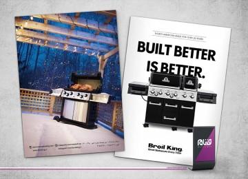طراحی کاتالوگ برویل کینگ