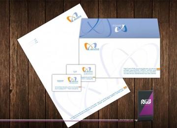 طراحی هویت سازمانی شرکت مفاد گستر پارس