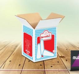 طراحی بسته بندی قند شمیم