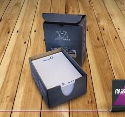 طراحی بسته بندی آماد تجارت