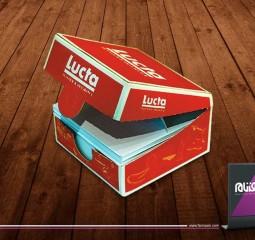 طراحی بسته بندی لوکتا