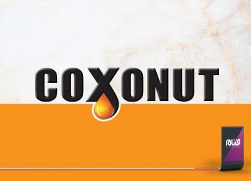 طراحی لوگو Coxonut