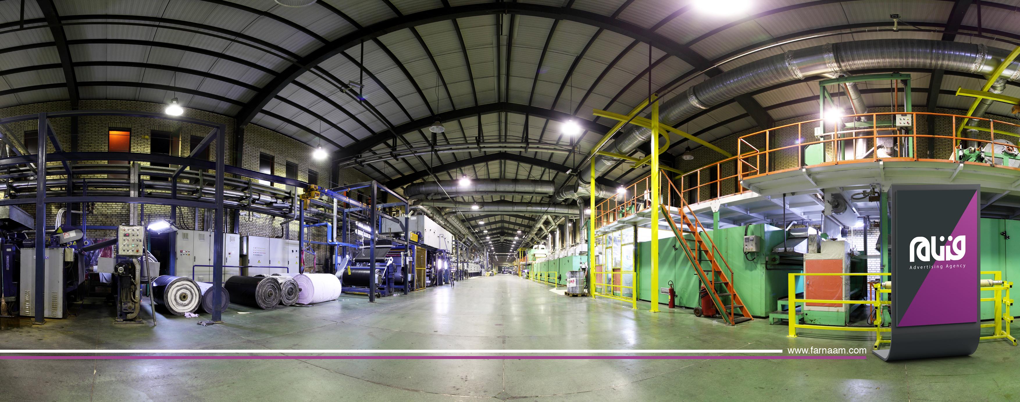 عکاسی از کارخانه تهران دلتا