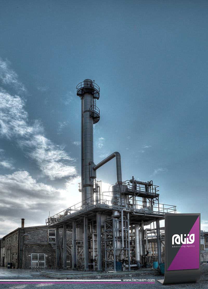 عکاسی از نمای کارخانه تهران دلتا