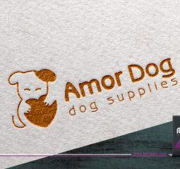طراحی لوگو Amor Dog