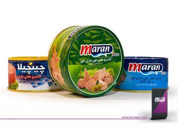 عکاسی از محصولات ماران تون