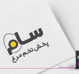 طراحی لوگو سام