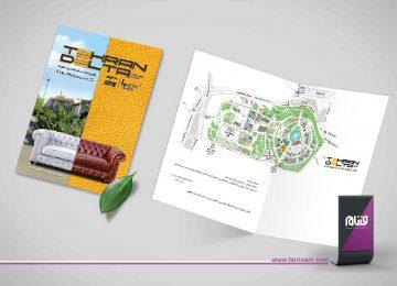 طراحی کارت پستال تهران دلتا